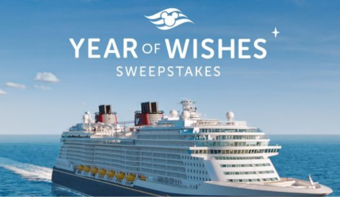 Disney Cruise Line Year of Wishes Sweepstakes