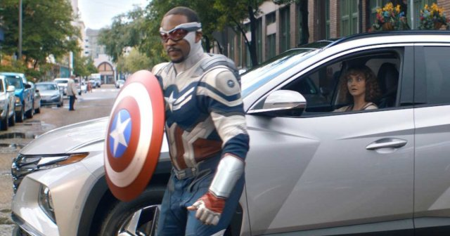 Anthony Mackie's 'Captain America' Featured in New Hyundai Commercial 1