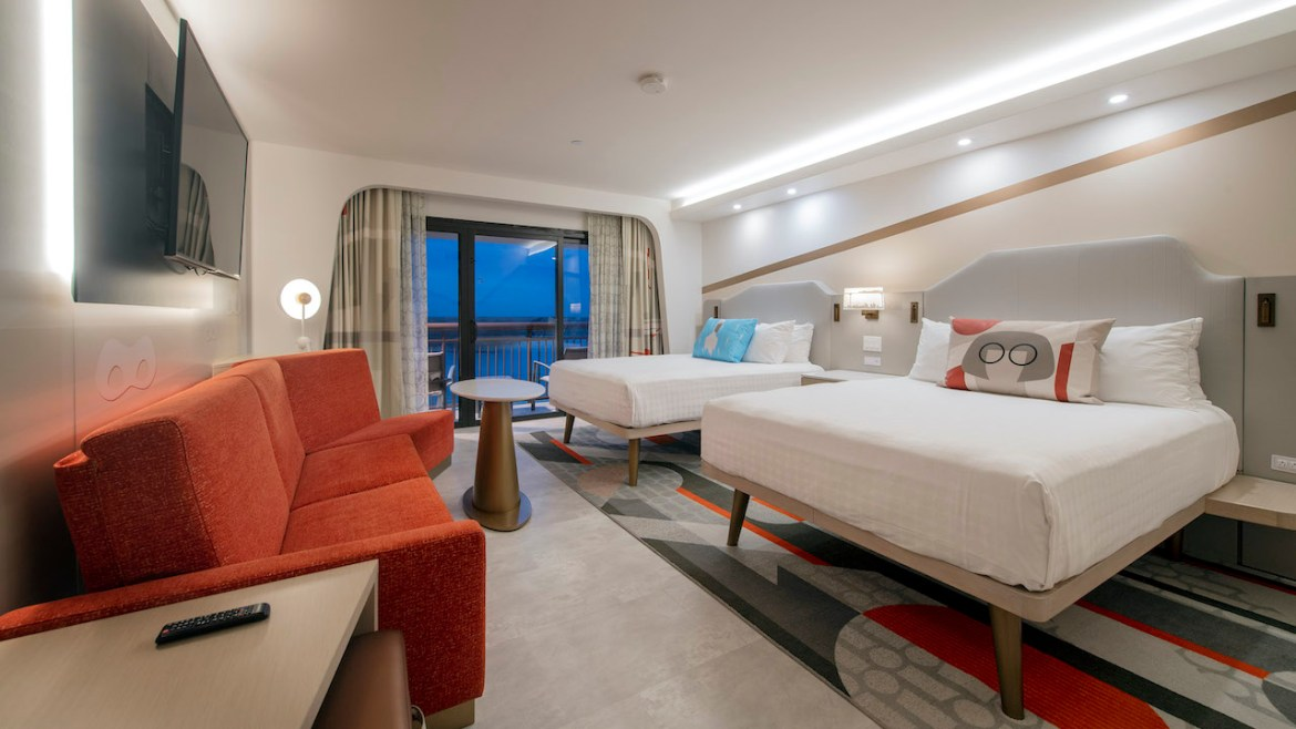 First look at the Incredibles Rooms at Disney's Contemporary Resort