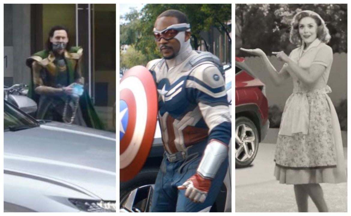 Marvel Disney+ Series Stars Featured in New Hyundai Commercials