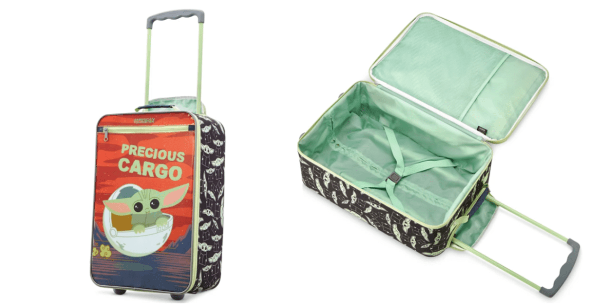 Baby Yoda Luggage by American Tourister