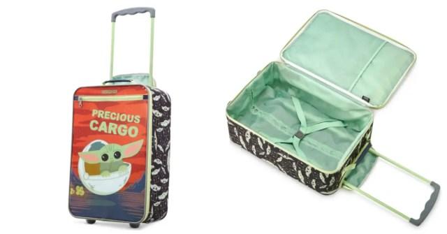 Baby Yoda Luggage