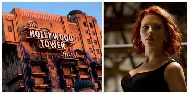 Scarlett Johansson to Produce and Star in Disney's 'Tower of Terror' Movie 1