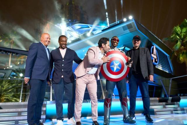 Avengers Assembled for the Grand Opening of Avengers Campus 1