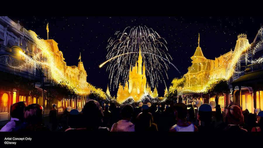 A new nighttime spectacular Disney Enchantment coming to Magic Kingdom