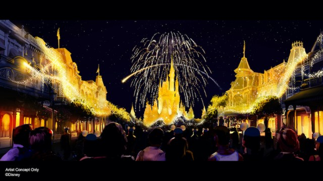 A new nighttime spectacular Disney Enchantment coming to Magic Kingdom 1