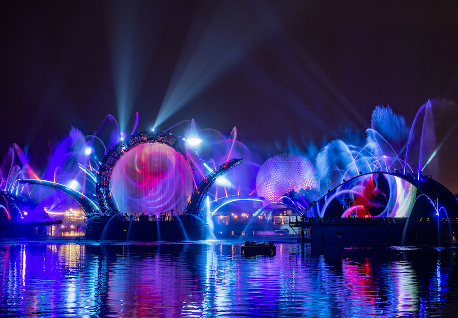 All New Night-time spectacular Harmonious coming to Epcot on October 1st!