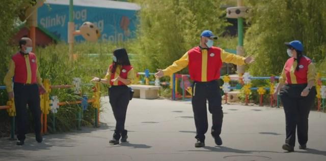 Disneyland Paris Cast Members get ready to Reopen! 3