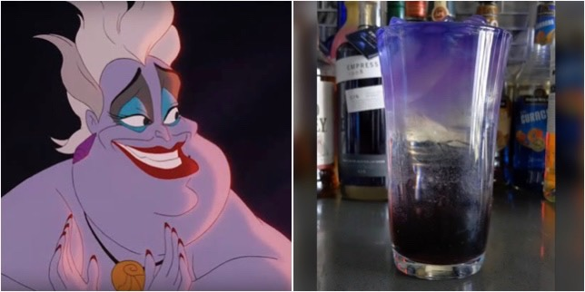 Your Poor Unfortunate Soul Will Love This Ursula Cocktail!