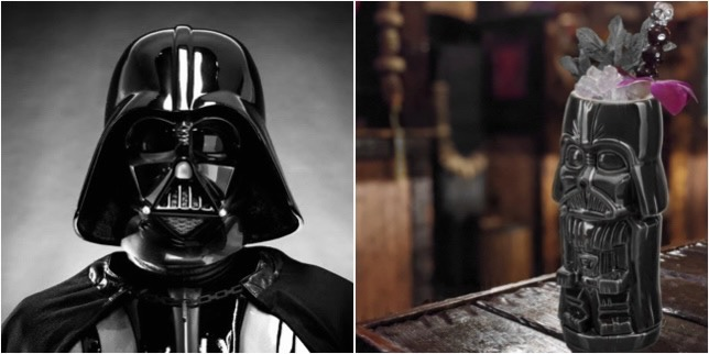 Come To The Dark Side And Enjoy A Vader-Ade Cocktail!