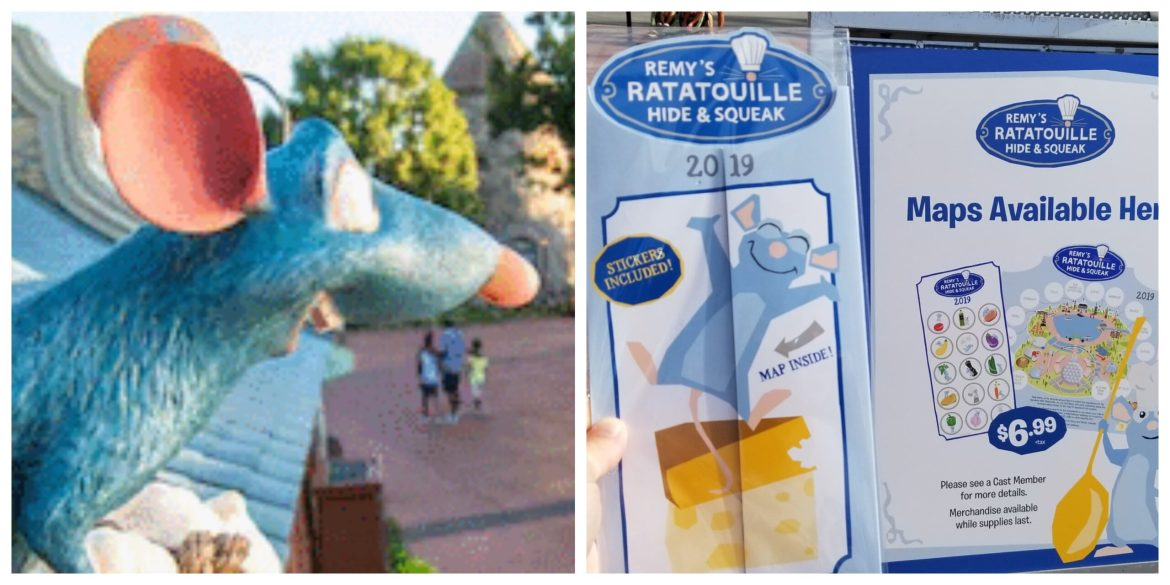 Remy Hide & Squeak Scavenger Hunt returns to Epcot Food and Wine Festival
