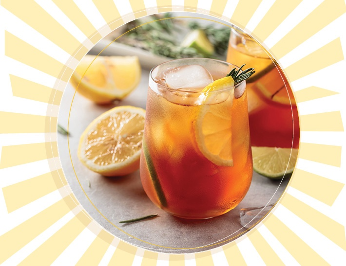Summer Fun Sun Tea Perfect For The 4th Of July!