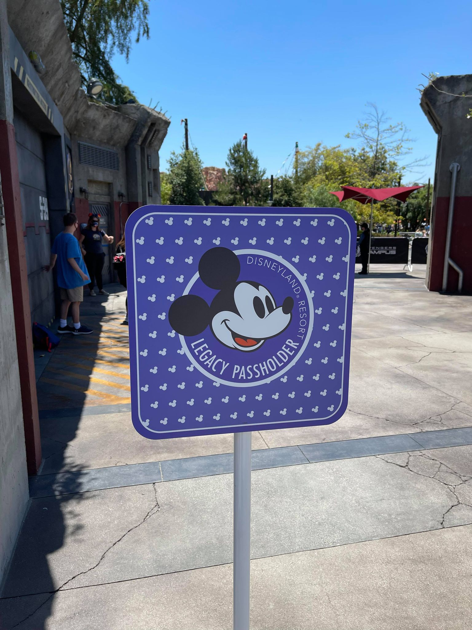 Legacy Passholder Photo Op in Avengers Campus 3