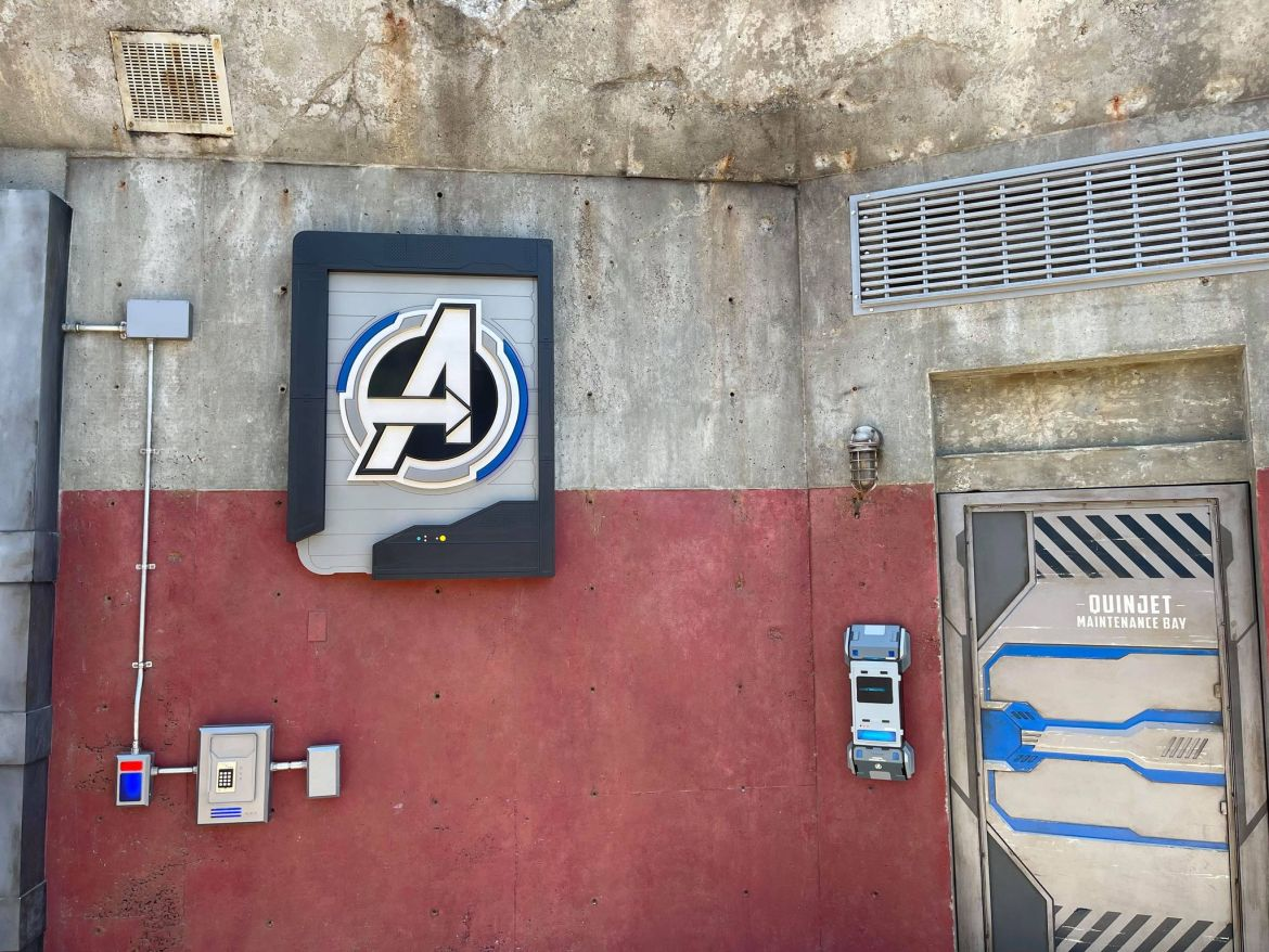 Legacy Passholder Photo Op in Avengers Campus