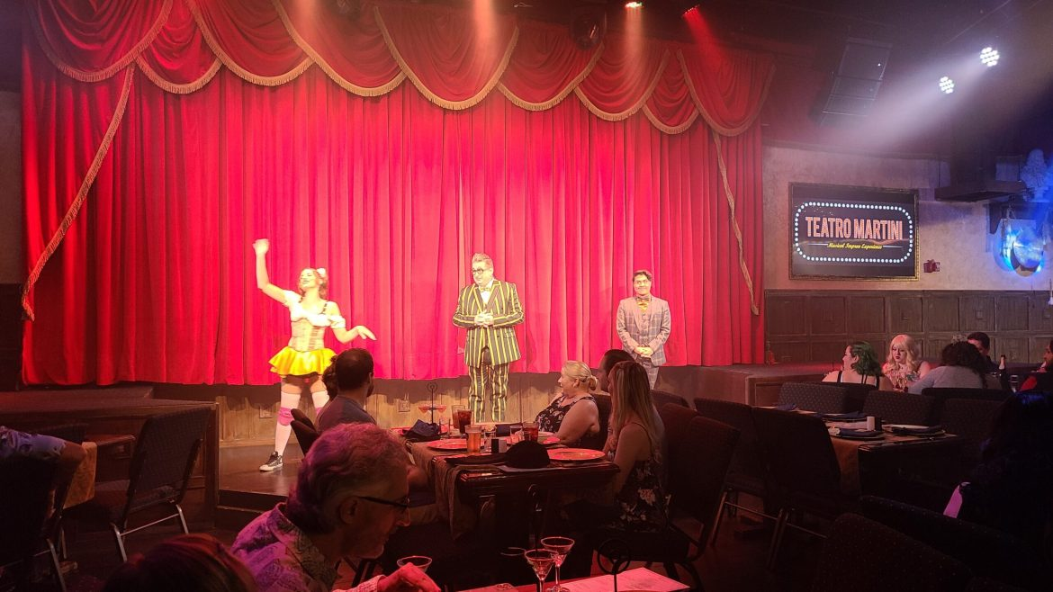 Review of Teatro Martini – Orlando's Hottest Vegas Style Dinner Show