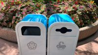 Trash Cans of Epcot