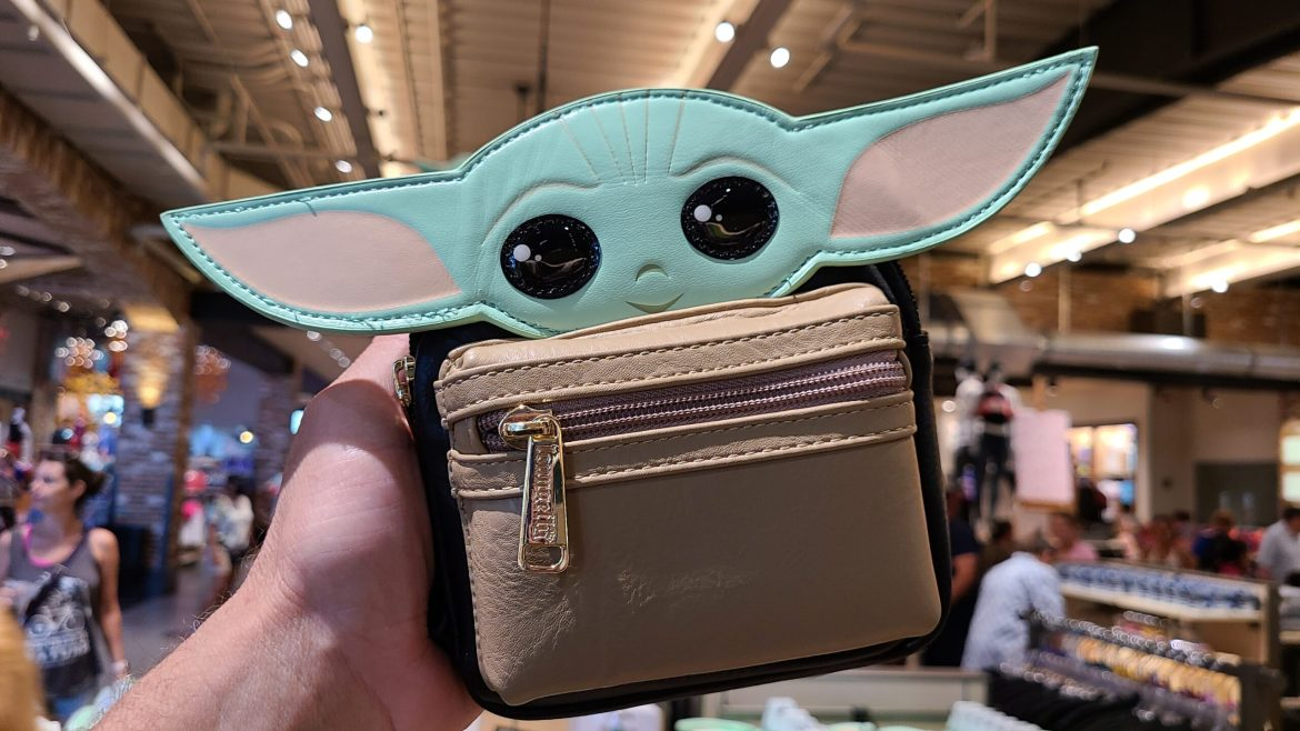 Super-Cute Baby Yoda Wristlet is a must-have for any Mandalorian fan