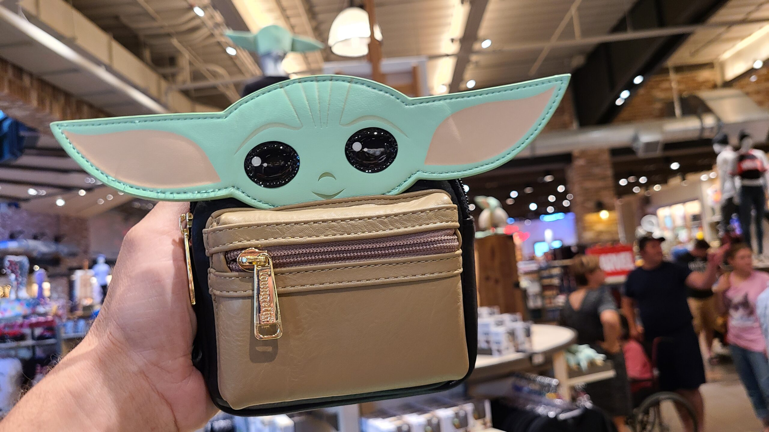 Super-Cute Baby Yoda Wristlet is a must-have for any Mandalorian fan 1