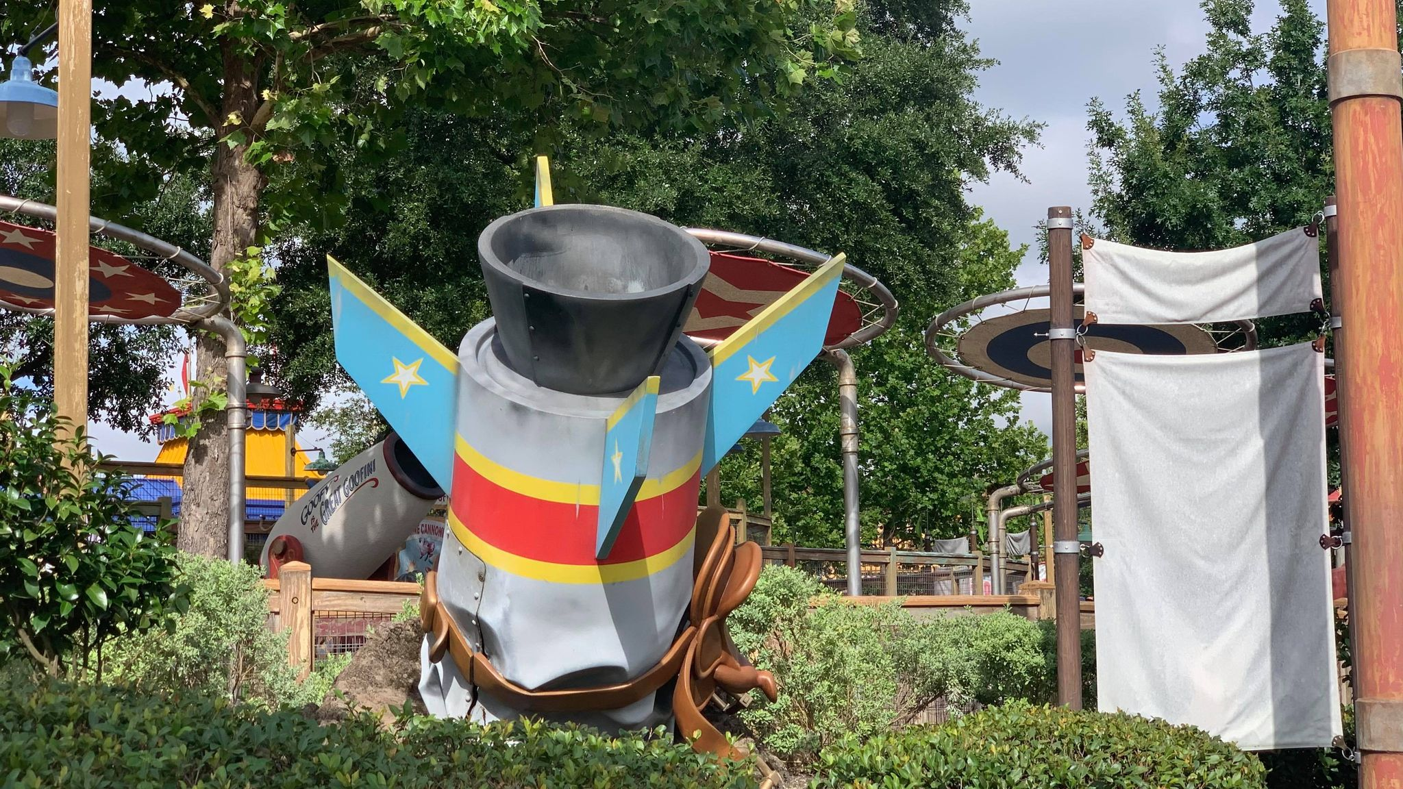 Goofy's Barnstormer gets a fresh coat of paint for 50th Anniversary 1