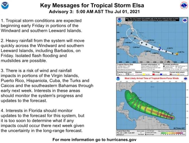 Tropical Storm Elsa sets her eye on Florida 4