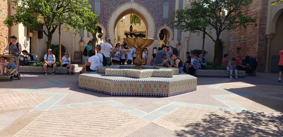 Morocco Pavilion Courtyard now open to guests in Epcot 2