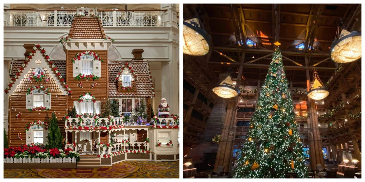 Christmas Trees and Gingerbread Displays coming to Select Disney World Resorts