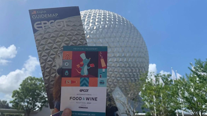 2021 Epcot International Food & Wine Festival Decor