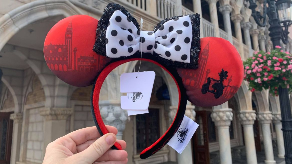 New Minnie Mouse Collection at Epcot's Italy Pavilion