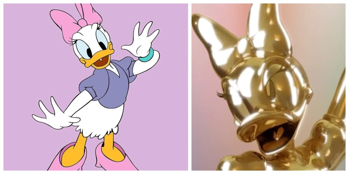 Daisy Duck is the next Disney Fab 50 Statue coming for Walt Disney World 50th