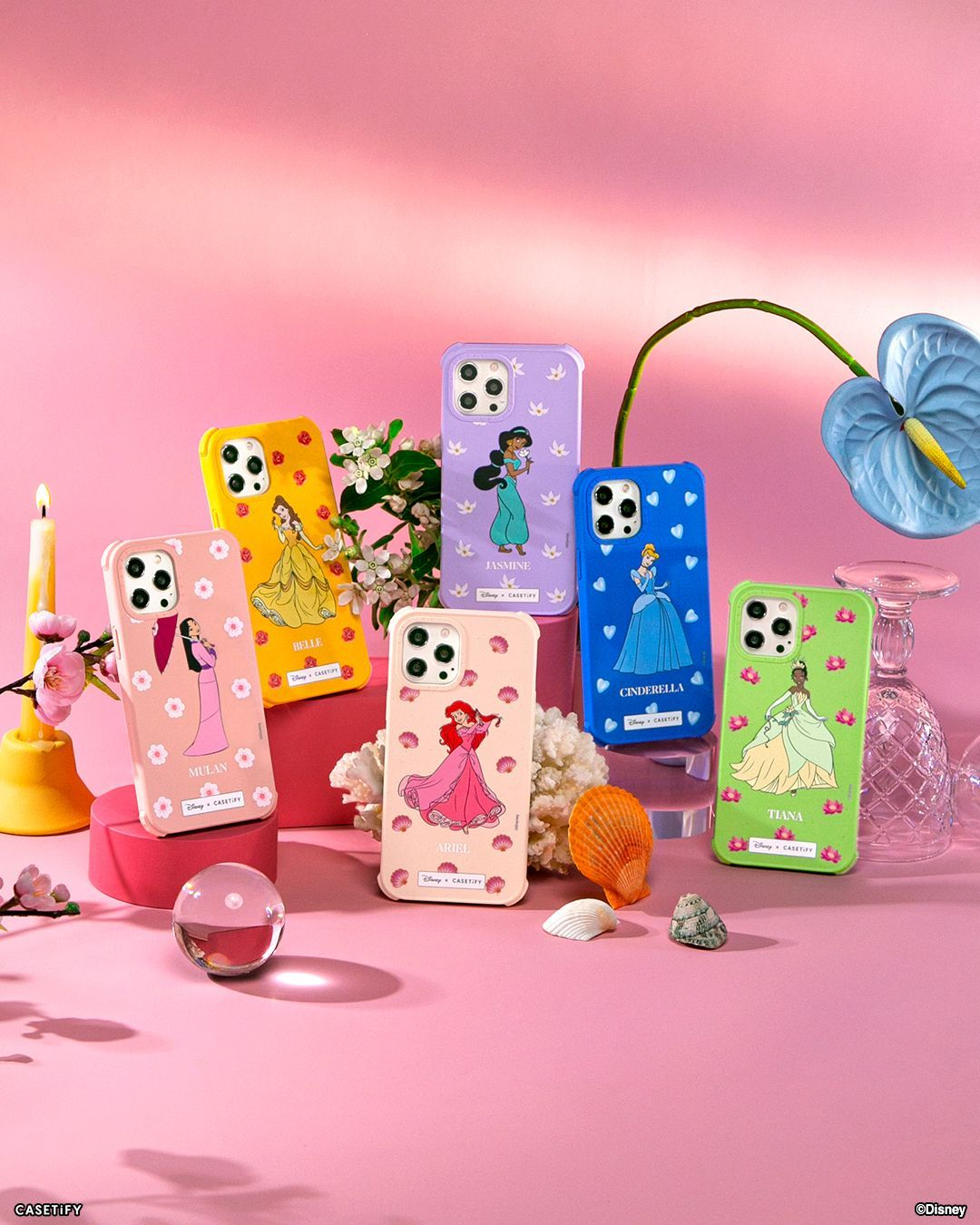 CASETiFY Launches New Disney Princess Collection