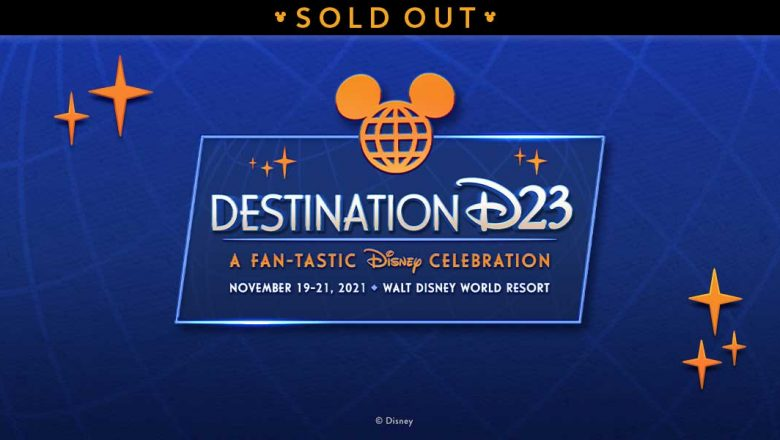 Destination D23 event at Walt Disney World sells out in minutes