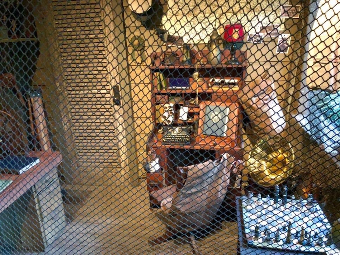 New Decor for the Jungle Cruise Skipper's Office has been added