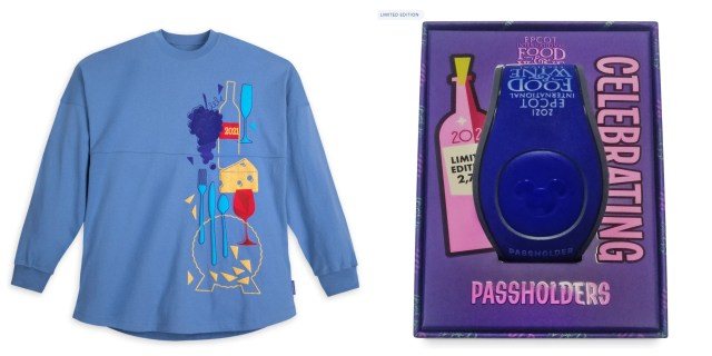 First look at the Epcot International Food & Wine Festival Merch for 2021 1