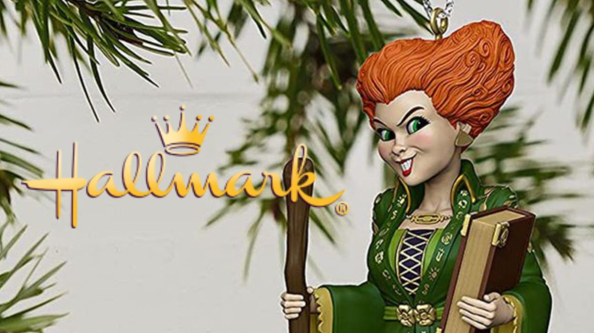 Hallmark is Now Offering a Winifred Sanderson Ornament from 'Hocus Pocus'