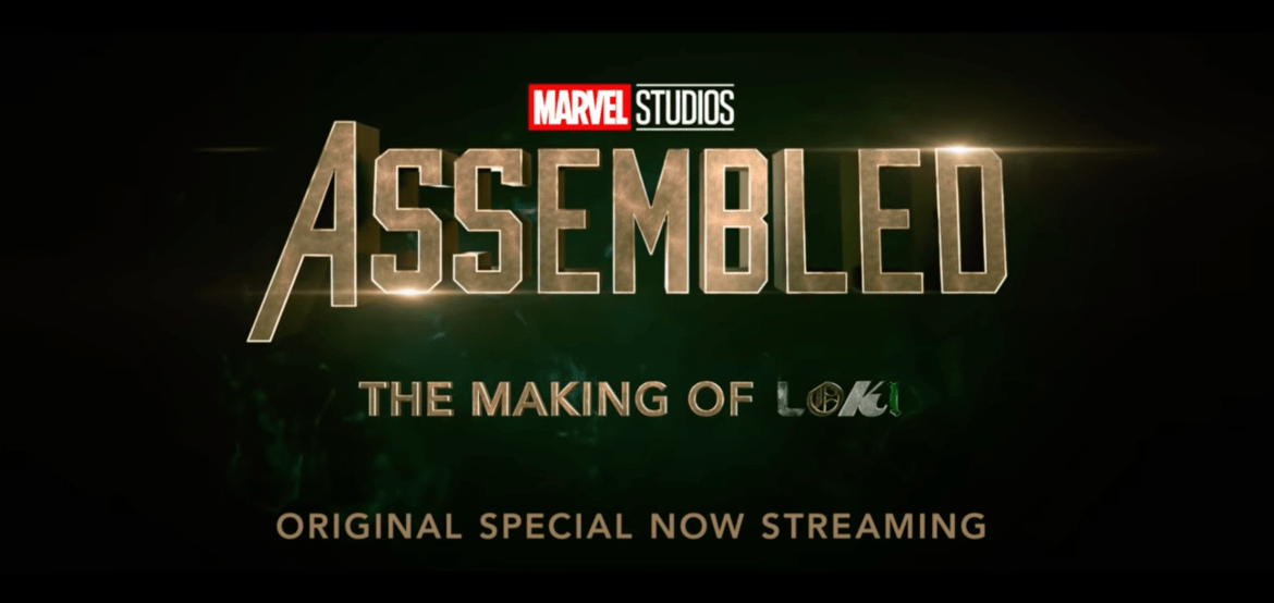 Marvel Studios' 'Assembled: The Making of Loki' is Now Available on Disney+