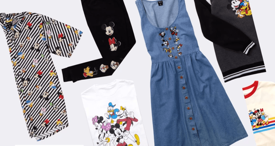 Mickey and Friends Collection At Hot Topic