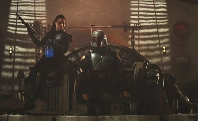 Fennec Shand and Boba Fett in 'The Mandalorian' Season 2