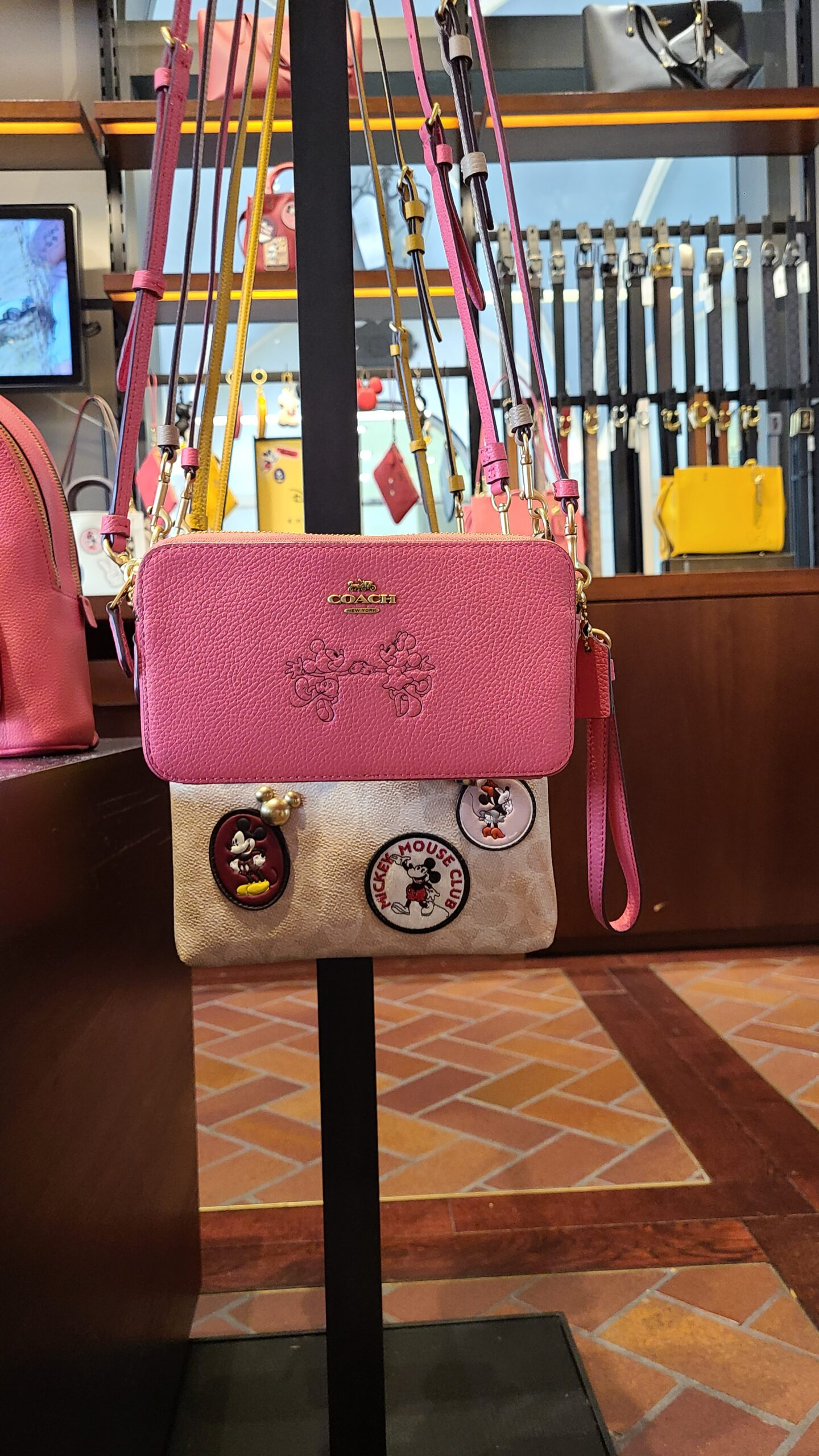 New Mickey & Minnie Coach Collection spotted at Disney Springs 8