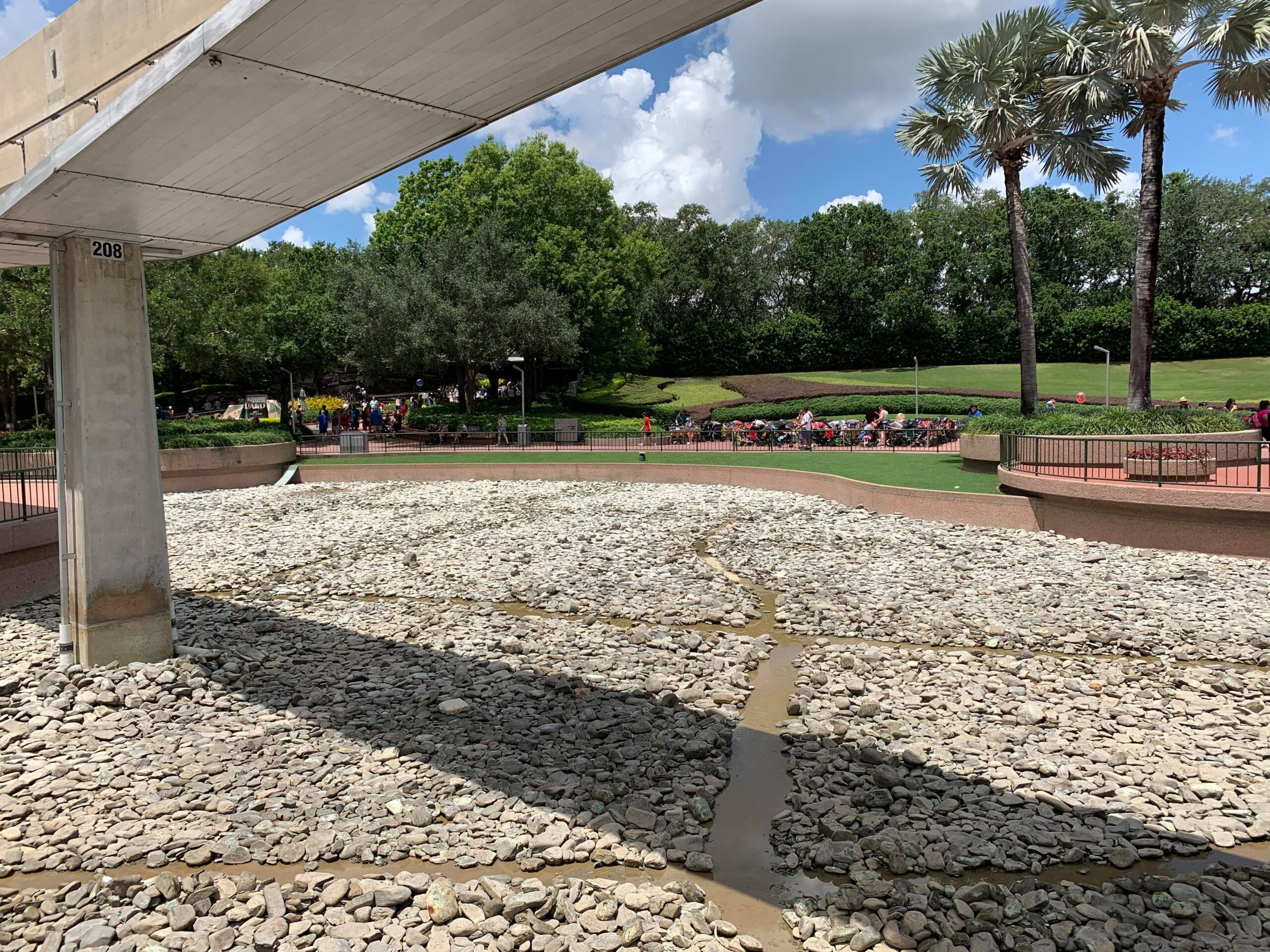 Epcot draining ponds as they prepare for Moana's Journey of Water 2