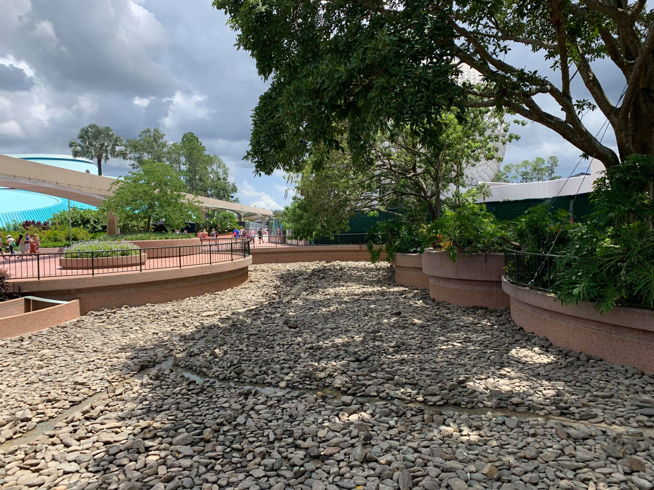 Epcot draining ponds as they prepare for Moana's Journey of Water 4