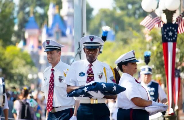 Flag Retreat Ceremonies