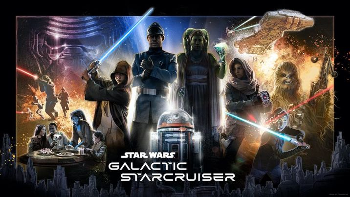 First Look at the Poster for Star Wars: Galactic Starcruiser
