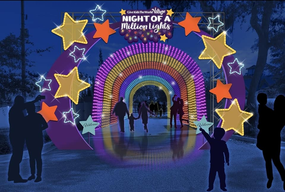 Night of a Million Lights returns to Give Kids The World Village on November 12th