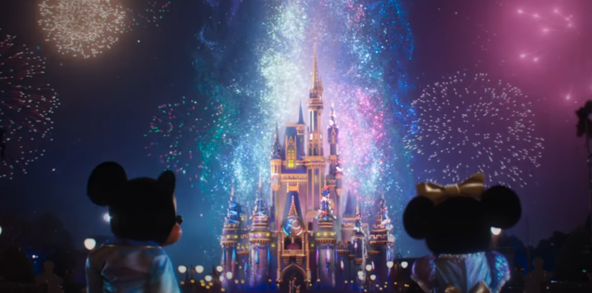 New Disney World Resort 50th Anniversary Celebration Commercial Debuts With More Fireworks!