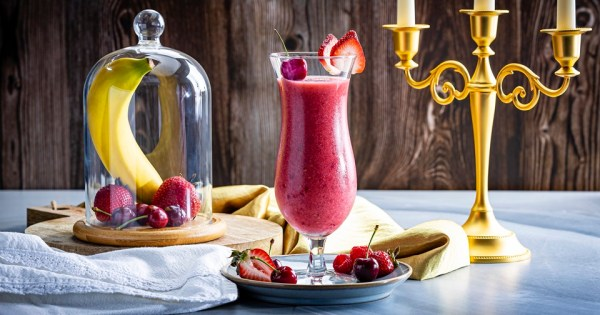 Enchanted Red Rose Smoothie