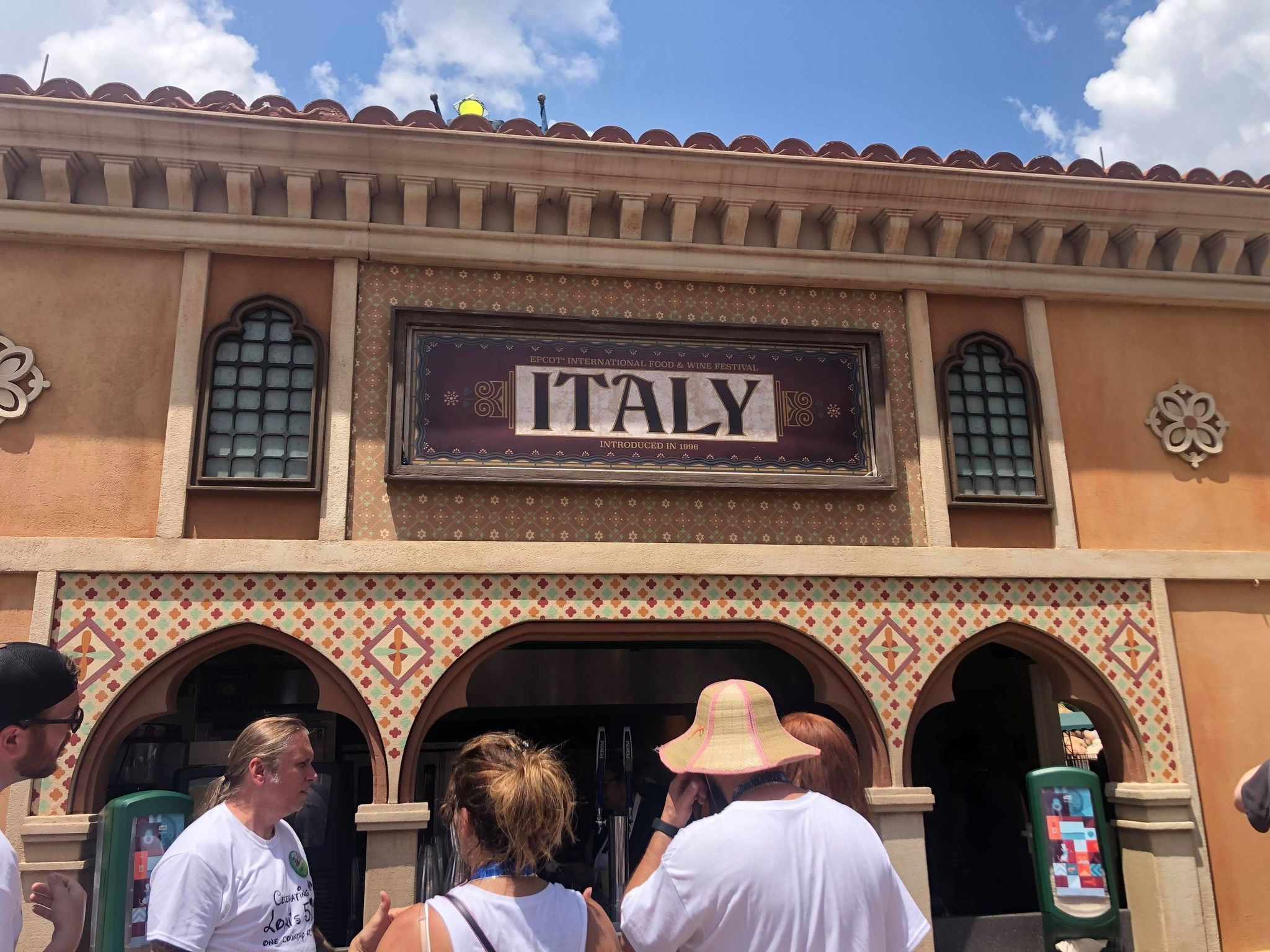 Epcot Food & Wine Italian Pavilion is Perfect for Families 1