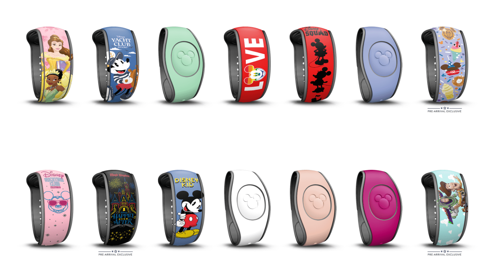 New Pre-Arrival Exclusive MagicBands on Disney World Website 8