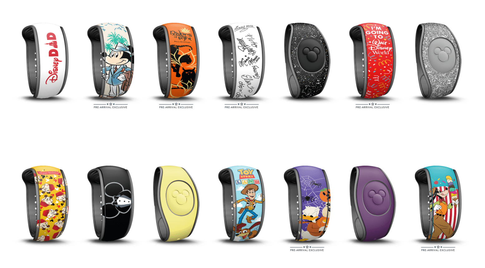 New Pre-Arrival Exclusive MagicBands on Disney World Website 9