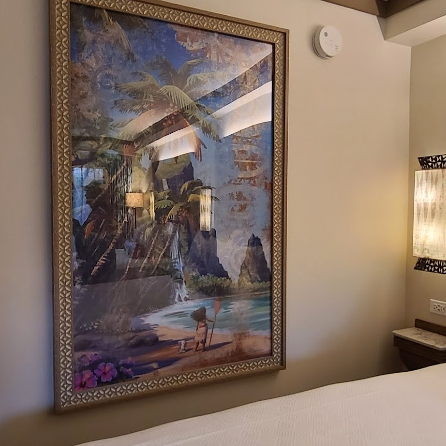 Take a tour of the new Moana Themed Rooms at Disney's Polynesian Resort 14