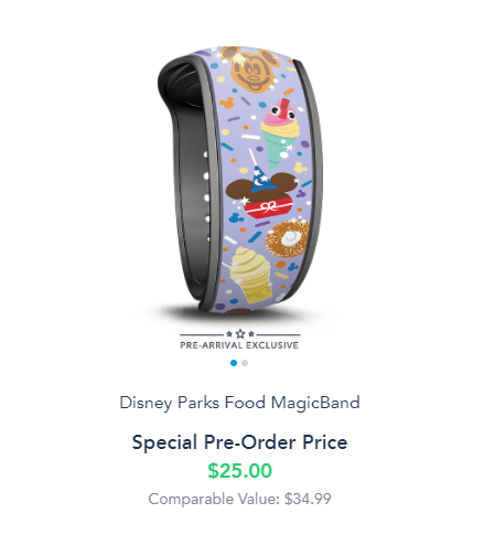 New Pre-Arrival Exclusive MagicBands on Disney World Website 6